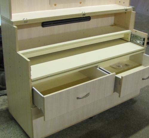 Встроенный шкаф купе из гипсокартона своими руками